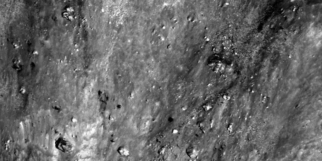 objetos en la luna