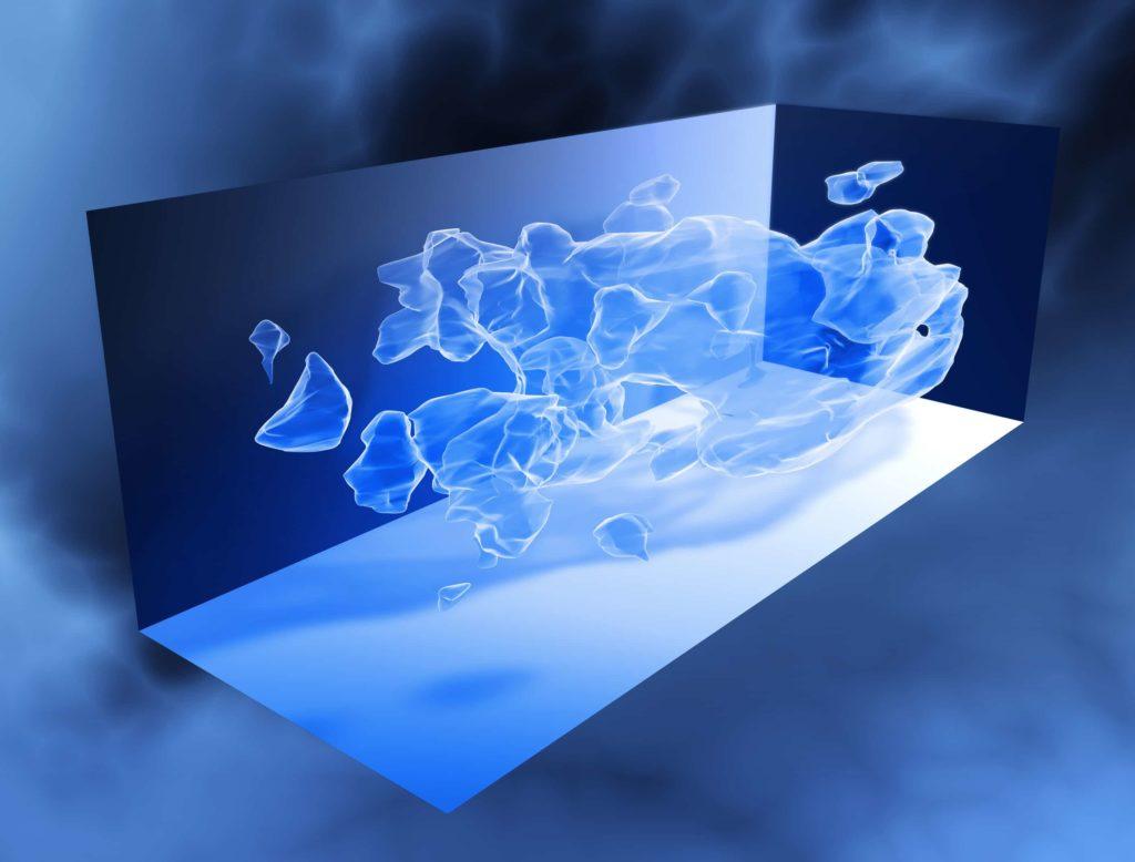 Materia oscura en 3D