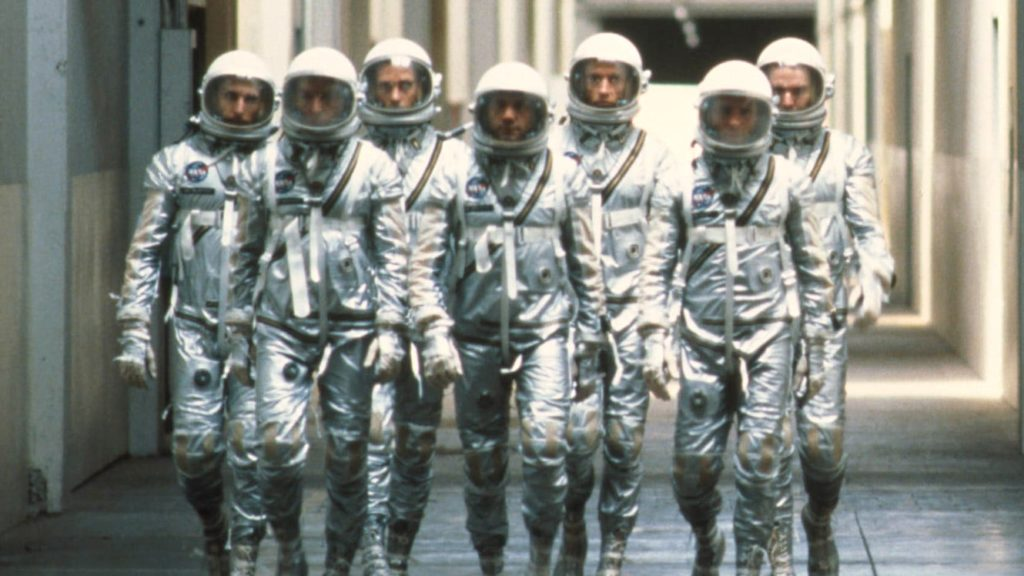 7 astronautas de Mercury