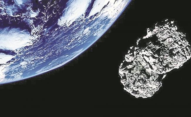 meteorito que pasó cerca de la tierra