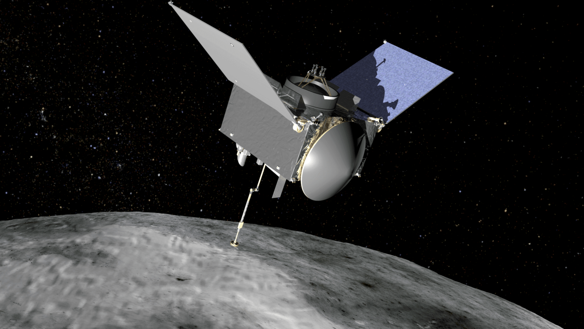 sonda osiris que visitará el Asteroide bennu