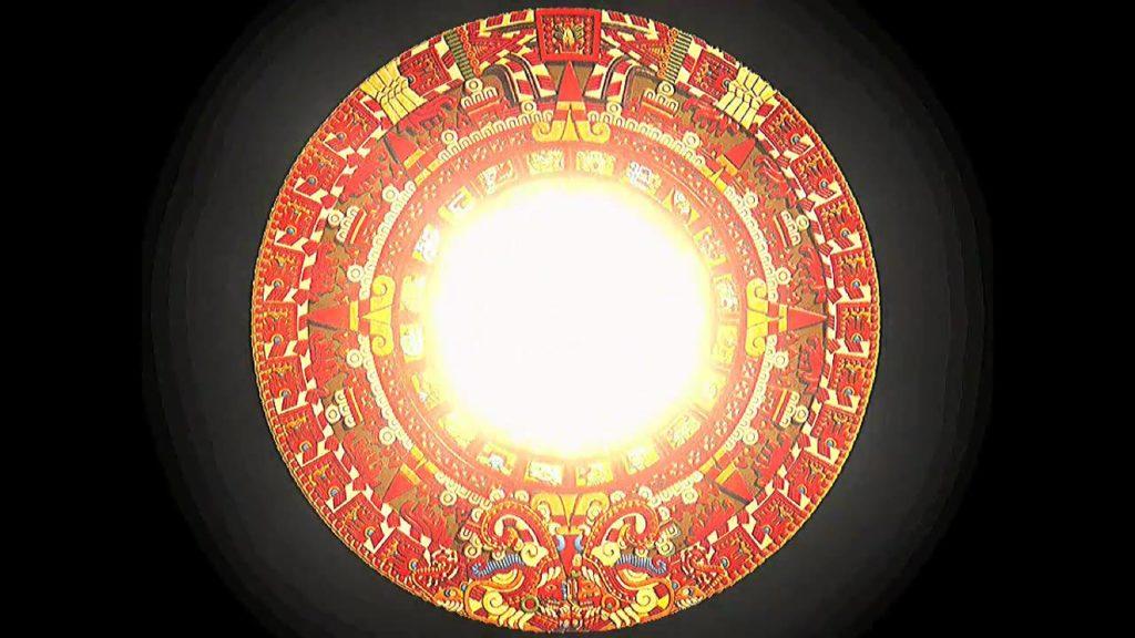 piedra del sol Cosmología azteca