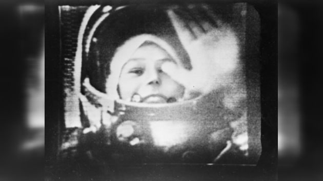 Despegue de Valentina Tereshkova