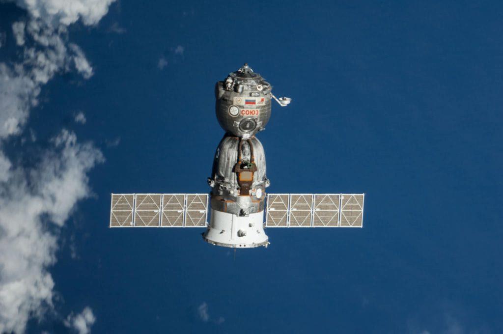 Soyuz en el espacio exterior