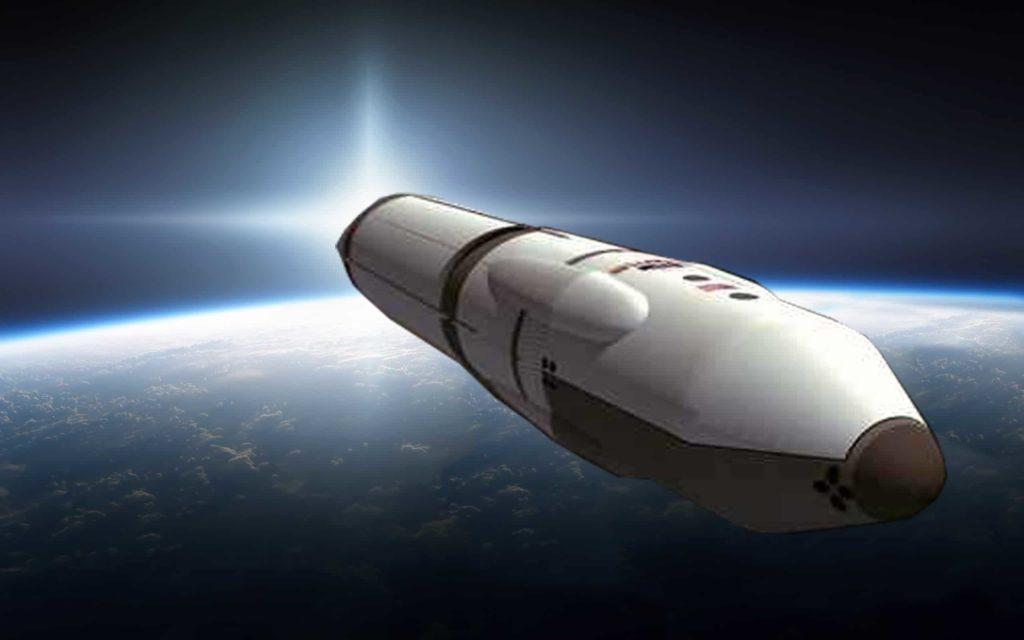 Nave espacial y su velocidad