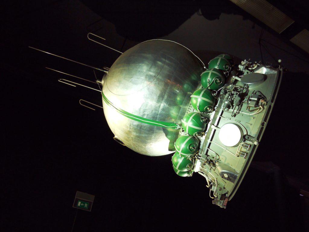 Primera nave espacial lanzada