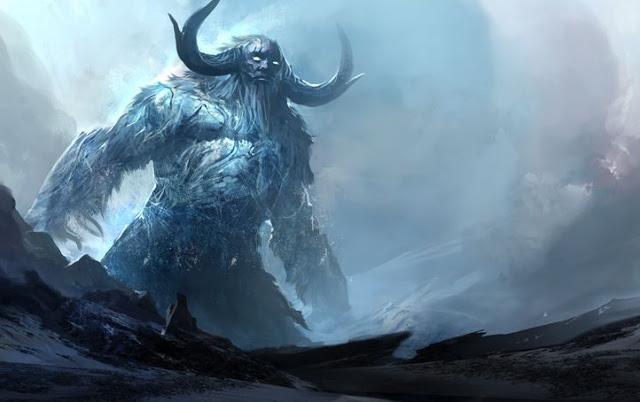 gigante ymir de la Cosmología nórdica