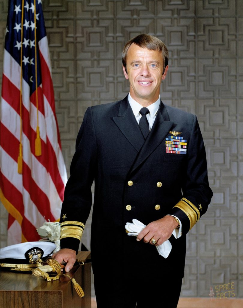 Rear Admiral Alan Bartlett Shepard, Jr., United States Navy