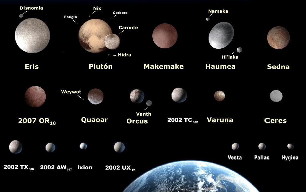 Qué planeta no tiene satélites y que planeta tiene más satélites o lunas-1