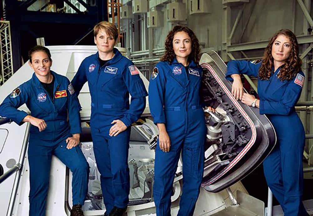 Astronauta Mujer
