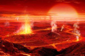 Eón Hádico, lo que no Sabes de esta Escala en la Formación de la Tierra.