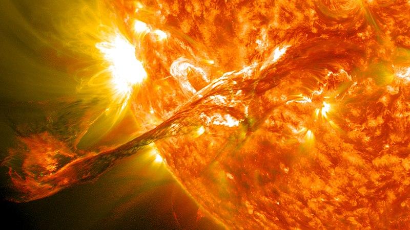 tormenta solar