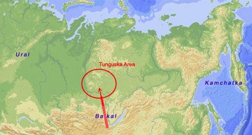 Tunguska y mas