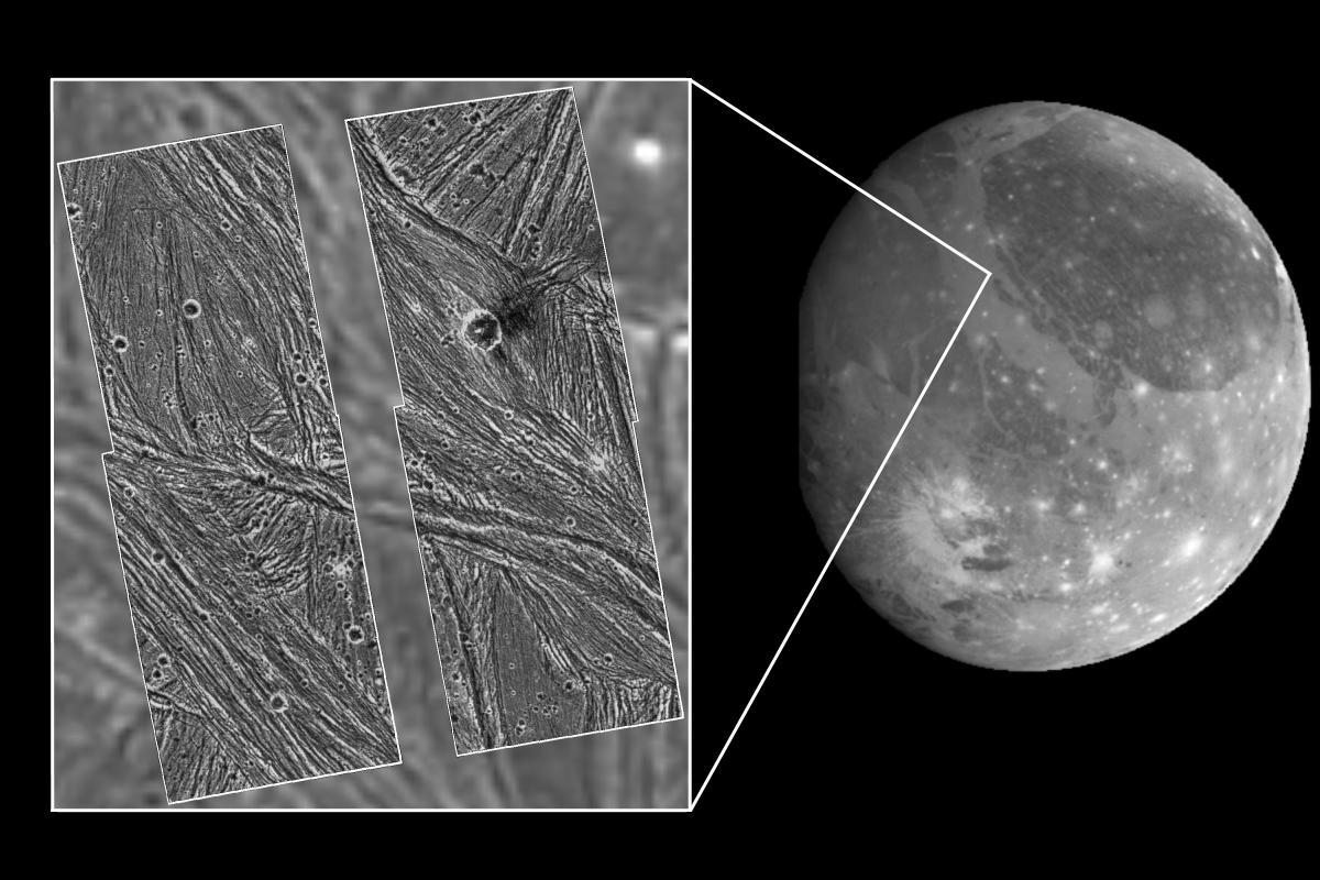 Ganímedes Satélite