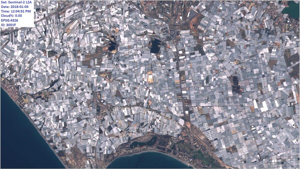 almeria desde el espacio