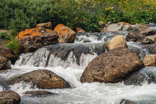 erosión fluvial