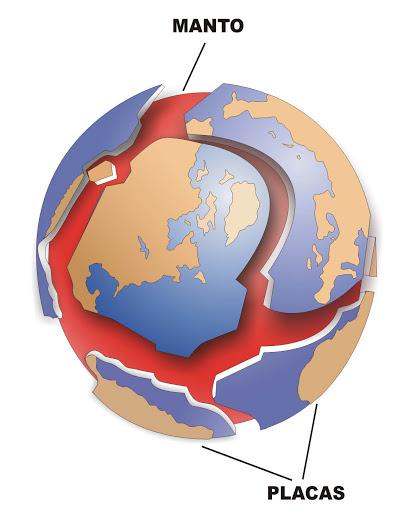 placas tectónicas en otros planetas