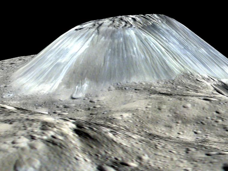 volcanes y montañas en otros planetas